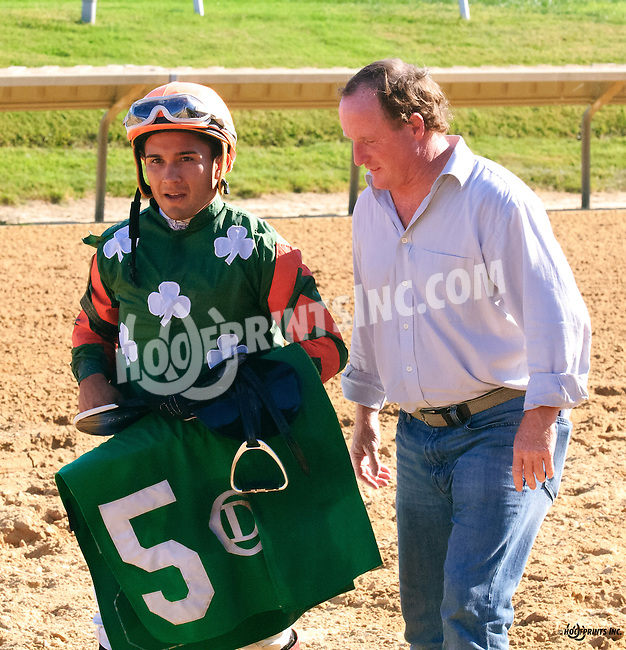 Doug Nunn and Nik Juarez at Delaware Park on 9/12/16