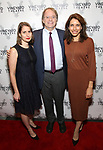 """Suzanne Appel, Doug Aibel and Sarah Stern during the Opening Night Celebration for """"Good Grief"""" at the Vineyard Theatre on October 28, 2018 in New York City."""