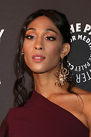 "LOS ANGELES - OCT 25:  MJ Rodriguez at ""The Paley Honors: A Gala Tribute to Music on Television"" at the Beverly Wilshire Hotel on October 25, 2018 in Beverly Hills, CA"