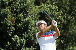 Yuta Ikeda (JPN), <br /> AUGUST 11, 2016 - Golf : <br /> Men's Individual Stroke Play First Round <br /> at Olympic Golf Course <br /> during the Rio 2016 Olympic Games in Rio de Janeiro, Brazil. <br /> (Photo by Koji Aoki/AFLO SPORT)