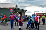 Eager fans at the roadside during Stage 1 of the 2018 Artic Race of Norway, running 184km from Vadso to Kirkenes, Norway. 16th August 2018. <br /> <br /> Picture: ASO/Gautier Demouveaux | Cyclefile<br /> All photos usage must carry mandatory copyright credit (&copy; Cyclefile | ASO/Gautier Demouveaux)