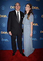 HOLLYWOOD, CA - FEBRUARY 02: Barry Sonnenfeld (L) and Chloe Sonnenfeld attend the 71st Annual Directors Guild Of America Awards at The Ray Dolby Ballroom at Hollywood & Highland Center on February 02, 2019 in Hollywood, California.<br /> CAP/ROT/TM<br /> ©TM/ROT/Capital Pictures