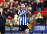Tom Lees of Sheffield Wednesday thanks the fans during Charlton Athletic vs Sheffield Wednesday, Sky Bet EFL Championship Football at The Valley on 30th November 2019