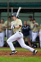 Notre Dame Fighting Irish shortstop Tommy Chase #11 during a game against the Illinois Fighting Illini at the Big Ten/Big East Challenge at Walter Fuller Complex on February 17, 2012 in St. Petersburg, Florida.  (Mike Janes/Four Seam Images)