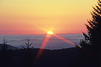 Sunset from Mt. Tamalpais