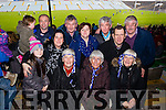 Enjoying the atmosphere at the St Mary's vs Ratoath, Meath, football intermediate club championship semi-final, at the Gaelic Grounds, Limerick on Sunday, were l-r: Eileen Cournane, Bridget Murphy, Betty Maguire. Back l-r: Lexi O'Donoghue, Ellis Donoghue, Joe O'Donoghue, Liz Maguire, Paul Cournane, Mary Cournane, Tom Cournane, Laurence Maguire and PJ O'Sullivan.