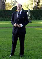 L'ambasciatore Giorgio Malfatti ritratto a Roma, 11 novembre 2010..UPDATE IMAGES PRESS/Riccardo De Luca