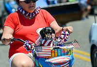 Independence Day Parade Held In Cape May, New Jersey