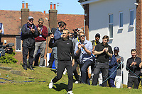 Marcus Kinhult (SWE) winner of the Betfred British Masters 2019 at Hillside Golf Club, Southport, Lancashire, England. 12/05/19<br /> <br /> Picture: Thos Caffrey / Golffile<br /> <br /> All photos usage must carry mandatory copyright credit (© Golffile | Thos Caffrey)