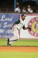 Fort Wayne TinCaps Jeudy Valdez during a game vs. the West Michigan Whitecaps at Fifth Third Field in Comstock Park, Michigan August 18, 2010.   Fort Wayne defeated West Michigan 5-1.  Photo By Mike Janes/Four Seam Images