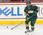 Drew Best (UVM - 12) - The visiting University of Vermont Catamounts tied the Boston College Eagles 2-2 on Saturday, February 18, 2017, Boston College's senior night at Kelley Rink in Conte Forum in Chestnut Hill, Massachusetts.Vermont and BC tied 2-2 on Saturday, February 18, 2017, Boston College's senior night at Kelley Rink in Conte Forum in Chestnut Hill, Massachusetts.