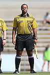 23 August 2015: Assistant Referee Larry Stroud. The Duke University Blue Devils played the Weber State University Wildcats at Fetzer Field in Chapel Hill, NC in a 2015 NCAA Division I Women's Soccer game. Duke won the game 4-0.