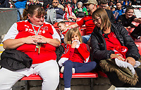 Fleetwood Town fans enjoy the pre-match atmosphere<br /> <br /> Photographer Alex Dodd/CameraSport<br /> <br /> The EFL Sky Bet League One - Fleetwood Town v Accrington Stanley - Saturday 15th September 2018  - Highbury Stadium - Fleetwood<br /> <br /> World Copyright &copy; 2018 CameraSport. All rights reserved. 43 Linden Ave. Countesthorpe. Leicester. England. LE8 5PG - Tel: +44 (0) 116 277 4147 - admin@camerasport.com - www.camerasport.com