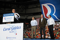 Gov Mitt Romney remarks during a Campaign Florida