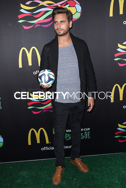 NEW YORK CITY, NY, USA - JUNE 05: Scott Disick at the 2014 FIFA World Cup McDonald's Launch Party held at Pillars 38 on June 5, 2014 in New York City, New York, United States. (Photo by Jeffery Duran/Celebrity Monitor)