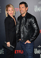 www.acepixs.com<br /> <br /> January 11 2017, New York City<br /> <br /> Kelly Ripa and Mark Consuelos arriving at the 'Lemony Snicket's A Series Of Unfortunate Events' Screening at the AMC Lincoln Square Theater on January 11, 2017 in New York City. <br /> <br /> By Line: Nancy Rivera/ACE Pictures<br /> <br /> <br /> ACE Pictures Inc<br /> Tel: 6467670430<br /> Email: info@acepixs.com<br /> www.acepixs.com