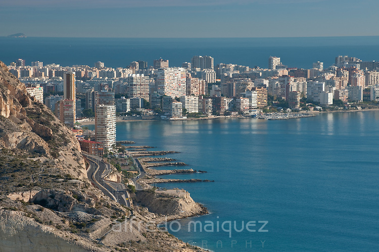Albufera beach and coast,Alicante, Costa, Blanca, Spain, Europe
