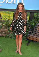 Michelle Heaton at the &quot;Christopher Robin&quot; European film premiere, BFI Southbank, Belvedere Road, London, England, UK, on Sunday 05 August 2018.<br /> CAP/CAN<br /> &copy;CAN/Capital Pictures