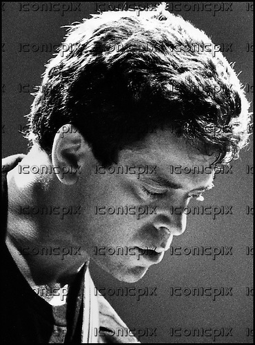 LOU REED - performing live at Le Zenith in Paris France - <br /> 1984.  Photo credit: Guy Ferrandis/Dalle/IconicPix
