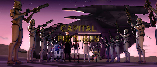 SCENE.in Star Wars: The Clone Wars.*Filmstill - Editorial Use Only*.CAP/FB.Supplied by Capital Pictures.