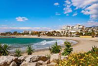 Spanien, Andalusien, Provinz Málaga, Costa del Sol, Puerto Banús bei Marbella - Strand | Spain, Andalusia, Costa del Sol, Puerto Banús near Marbella: beach