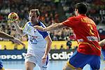 Zorman vs Entrerrios. SPAIN vs SLOVENIA: 26-22 - Semifinal.