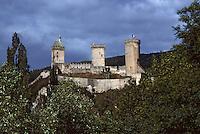 Europe/France/Midi-Pyrénées/09/Ariège/Vallée de l'Ariège/Foix: Le Château