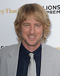 Owen Wilson attends The Lionsgate Premiere of She's Funny That Way held at The Harmony Gold Theatre  in Los Angeles, California on August 19,2015                                                                               © 2015 Hollywood Press Agency