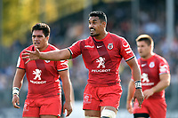 Jerome Kaino of Toulouse. Heineken Champions Cup match, between Bath Rugby and Stade Toulousain on October 13, 2018 at the Recreation Ground in Bath, England. Photo by: Patrick Khachfe / Onside Images