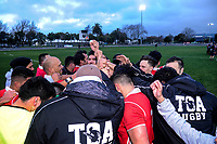 Action from the Horowhenua-Kapiti premier club rugby union final between Toa and Rahui at Levin Domain in Levin, New Zealand on Saturday, 28 July 2018. Photo: Dave Lintott / lintottphoto.co.nz