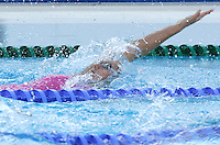 France's Alexianne Castel swims during a women's 100 meters backstroke semifinal at the Swimming World Championships in Rome, 27 July 2009..UPDATE IMAGES PRESS/Riccardo De Luca