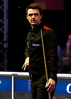 25th February 2020; Waterfront, Southport, Merseyside, England; World Snooker Championship, Coral Players Championship; Michael Holt (ENG) during his first round match against Judd Trump (ENG), which he lost 3-6