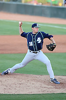AJ Griffin, San Diego Toreros in a series at Arizona State University, 4/5 - 4/6/2010 .Photo by:  Bill Mitchell/Four Seam Images.