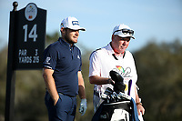 Tyrrell Hatton (ENG) on the 14th tee during the 3rd round of the Arnold Palmer Invitational presented by Mastercard, Bay Hill, Orlando, Florida, USA. 07/03/2020.<br /> Picture: Golffile | Scott Halleran<br /> <br /> <br /> All photo usage must carry mandatory copyright credit (© Golffile | Scott Halleran)