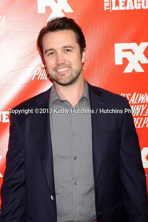 "LOS ANGELES - SEP 3:  Rob McElhenney at the FXX Network Launch Party And Premieres For ""It's Always Sunny In Philadelphia"" And ""The League"" at the Lure on September 3, 2013 in Los Angeles, CA"