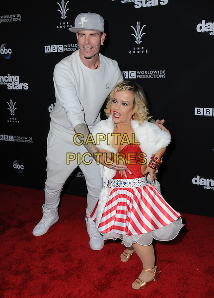22 November 2016 - Los Angeles, California. Vanilla Ice, Terra Jol&eacute;. ABC's &quot;Dancing With The Stars&quot; Season 23 Finale held at The Grove. <br /> CAP/ADM/BT<br /> &copy;BT/ADM/Capital Pictures