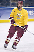 Tim Filangieri - The Boston College Eagles took their morning skate on Saturday, April 8, 2006, at the Bradley Center in Milwaukee, Wisconsin to prepare for the 2006 Frozen Four Final game versus the University of Wisconsin.