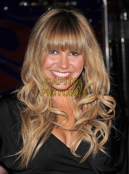 GRACE POTTER .The MAXIM HOT 100 Party held at Eden in Hollywood, California, USA..May 11th, 2011         .headshot portrait fringe bangs hair smiling black.CAP/RKE/DVS.©DVS/RockinExposures/Capital Pictures.
