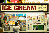 Ice cream stand, Atlantic City, New Jersey, USA