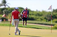 Max Kieffer (GER) on the 1th fairway during the 1st round of the Abu Dhabi HSBC Championship, Abu Dhabi Golf Club, Abu Dhabi,  United Arab Emirates. 16/01/2020<br /> Picture: Fran Caffrey | Golffile<br /> <br /> <br /> All photo usage must carry mandatory copyright credit (© Golffile | Fran Caffrey)
