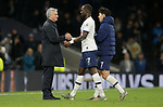 Tottenham's Head Coach Jose Mourinho shakes hands with Moussa Sissoko (C) after the Premier League match at the Tottenham Hotspur Stadium, London. Picture date: 30th November 2019. Picture credit should read: Paul Terry/Sportimage
