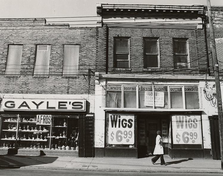 UNDATED..Redevelopment.Church Street..Gayle's Wigs...NEG#.NRHA#..