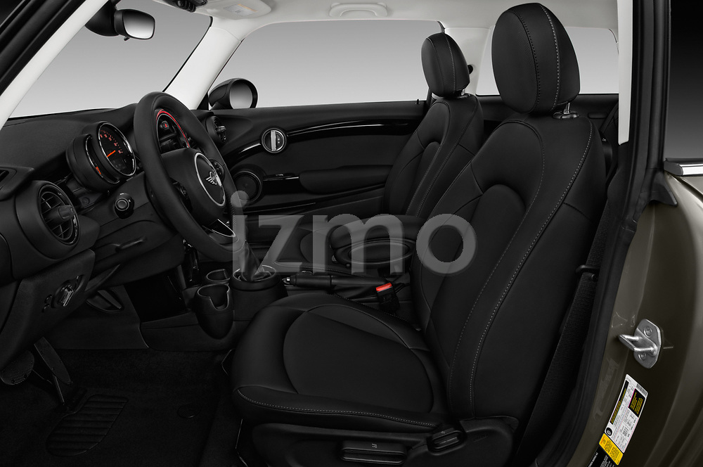 Front seat view of a 2019 Mini mini Cooper 3 Door Hatchback front seat car photos