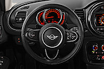 Car pictures of steering wheel view of a 2016 MINI Clubman One 5 Door Wagon Steering Wheel