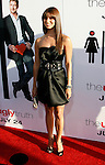 """HOLLYWOOD, CA. - July 16: Roselyn Sanchez  arrives at the Los Angeles premiere of """"The Ugly Truth"""" held at the Pacific's Cinerama Dome on July 16, 2009 in Hollywood, California."""