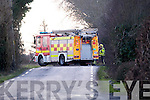 Crash Scene at Keylod, Moyvane on Monday afternoon.