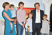 "Alexander Armstrong with his family at the ""Horrible Histories: The Movie - Rotten Romans"" world film premiere, Odeon Luxe Leicester Square, Leicester Square, London, England, UK, on Sunday 07th July 2019.<br /> CAP/CAN<br /> ©CAN/Capital Pictures"