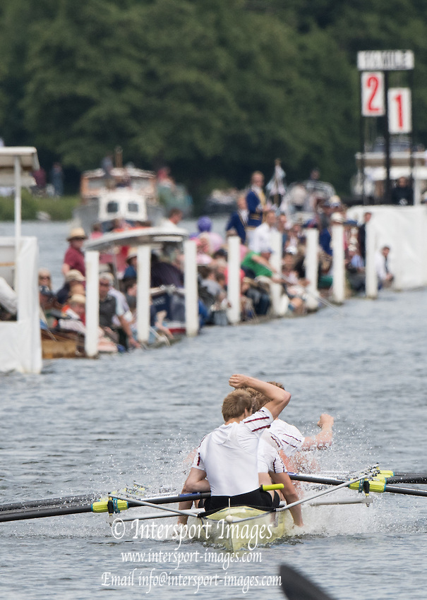 "Henley on Thames. United Kingdom.  Final of the Ladies"" Challenge Plate. Bucks Station. A.S.R. Nereus and Berks Station, Leander Club    2016 Henley Royal Regatta,   Sunday,  03/07/2016,   [Mandatory Credit Peter Spurrier/Intersport Images]"