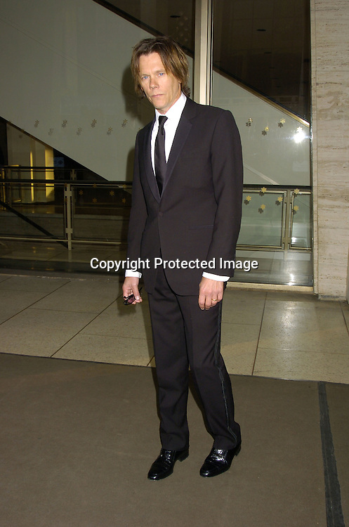 Kevin Bacon ..at The Film Society of Lincoln Center honor of Dustin Hoffman on April 18, 2005 at Avery Fisher Hall. ..Photo by Robin Platzer, Twin Images