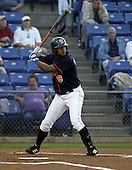 September 2, 2004:  Aarom Baldiris of the Binghamton Mets, Eastern League (AA) affiliate of the New York Mets, during a game at NYSEG Stadium in Binghamton, NY.  Photo by:  Mike Janes/Four Seam Images